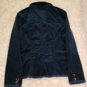 L.L. Bean Jackets & Coats - LL Bean Dark Blue green Corduroy Blazer